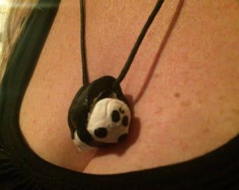 Clay Panda Necklace