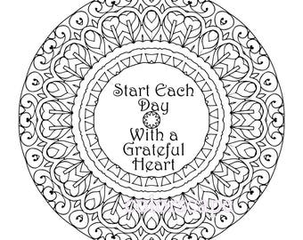 mandala coloring pages meaningful quotes - photo#30