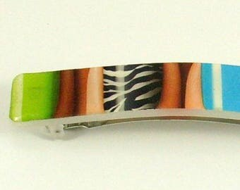 Amazing - Barrette Upcycled Hairclip
