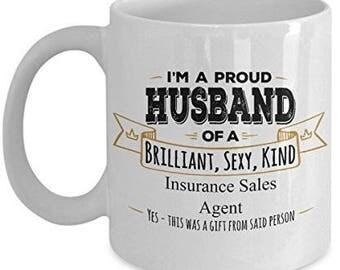 Husband Mug  - Gift for Husband - Husband Gift - Insurance Agent Mug  Insurance Sales Agent Gift