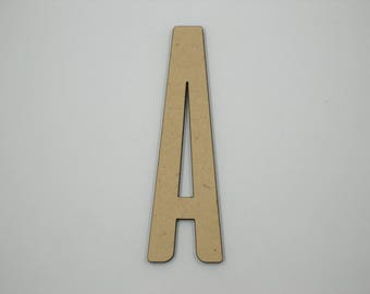 15cm MDF Wood Wooden Letters 3mm Thick ALI