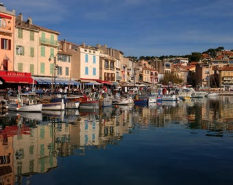 Port de Cassis | Cassis, France | Travel Mediterranean Sea Photograph