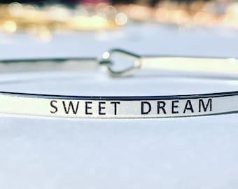 Inspired bangle Bracellet ( sweet dream )