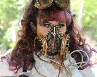 Steampunk masks 1&2