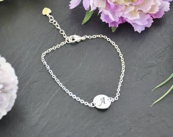 Personalised Silver Plated Bracelet