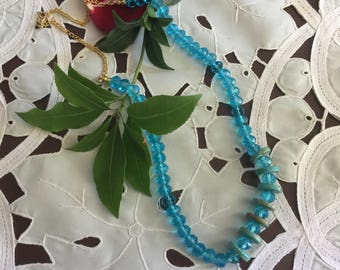 Bright Turquoise necklace - series Angelica n 4