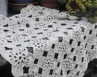 new handmade lace crochet centerpiece placemat