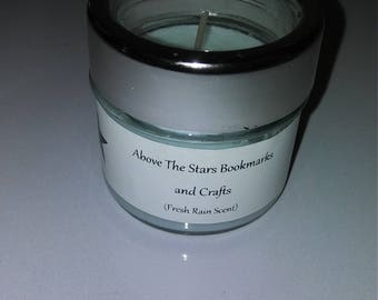 Fresh Rain scented candle small