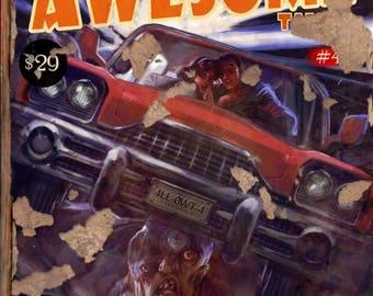 FALLOUT 4 replica magazine cover