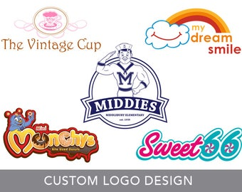 Custom Logo Design - Branding - Custom Design - Graphic Design - Professional Branding
