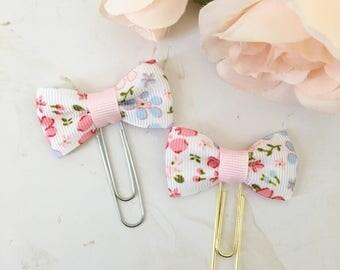 Floral Paper Clip