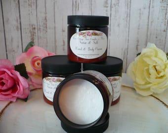 Clearance Brown Jar Satin & Silk Hand and Body Cream