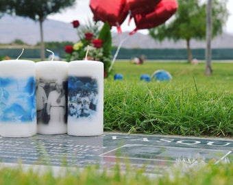 Memorial Candles, Basic Package-