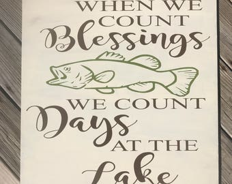 When We Count Blessings...