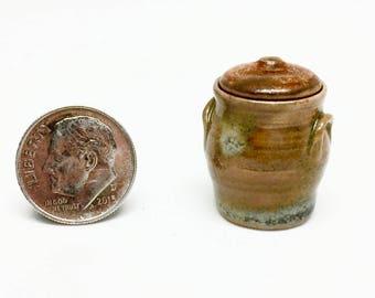 Woodfired Lidded Miniature Jar