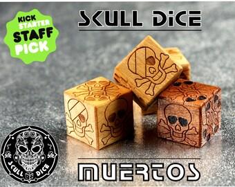 Skull Dice Muertos