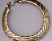 GRAZIANO Gold Neckace / Graziano Gold Coller Necklace / Statement Gold Necklace Designer Graziano / Graziano Neckace / Graziano Jewelry