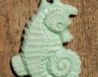 sleeping seahorse ornament