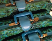 Matching Set of 3 Vintage Suitcases & Travel Bags - PRISTINE!