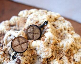 Crossed Arrow Earrings - Arrow Earrings - Wooden Arrow Earrings - boho jewelry - boho chic - bohemian jewelry