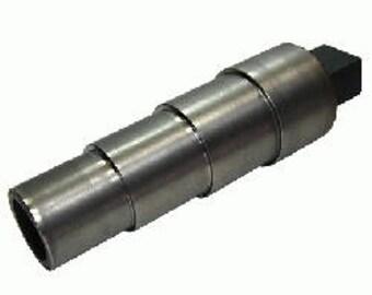 """Round Bracelet Mandrel Solid Steel Stepped - Bracelet Forming, Metal Forming Bracelet - 2-3/4"""" to 1-3/4"""""""