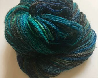 Hand Dyed Fingering Weight Yarn, Ripple