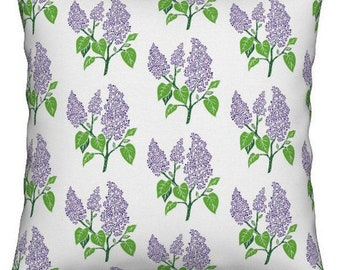 NEW 16x16 lilac pillow