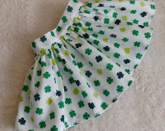 18 Inch Doll Clothes Skirt Shamrock Medley Very Fully Gathered 50s Style Fits AG