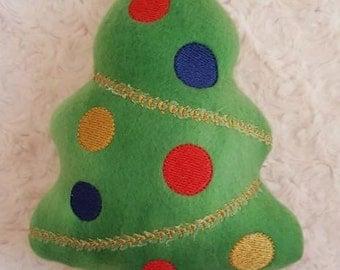 Christmas Tree Dog Toy