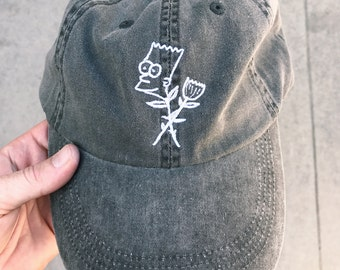 Cool Flowers, Man Dad Hat