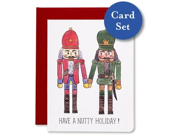 Nutty Holiday  Card Set of 8