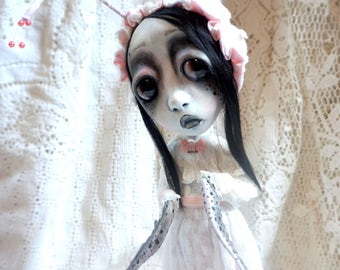 Loopy Southern Gothic Art Doll Victorian Dark Beetle Bug Billy