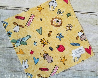 School Rules - Reusable Sandwich Bag | Snack Bag | Waterproof | Travel Bag from green by mamamade