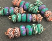 Willows & Vines Disk Bead Set
