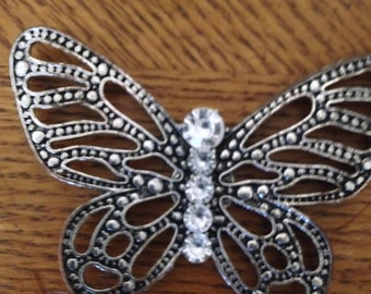 magnetic brooch, butterfly, with gift bag