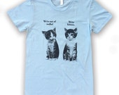 Vodka Kittens T-shirt - Women's - American Apparel Tri Blend