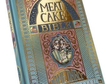 PRE-ORDER Meat Cake Bible, graphic novel, comic, alternative comics, Dame Darcy, fairytales, dark, twisted