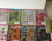 Quilters Newsletter Magazine 2007 - 9 Issues