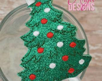 Christmas Tree Slider Headband - Holiday Headband