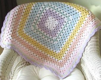 Crochet Baby Blanket, Baby Blanket, Crochet, Baby Afghan, Crochet Blanket, Baby Shower Gift, New Baby Gift, Nursery Blanket, Newborn Gift