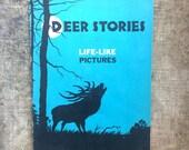 1936 3D Children's Book - Deer Stories by Martha King
