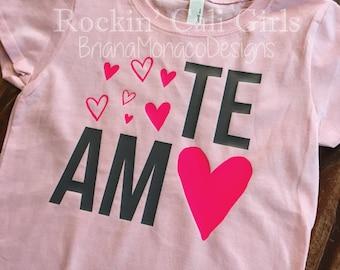 Te Amo shirt