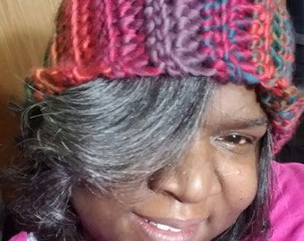 Custom Made- Crochet Slouchy Hat