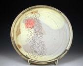 Red Spot Platter/Serving Dish