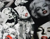 Marilyn Monroe printed Cotton fabric Hollywood popart