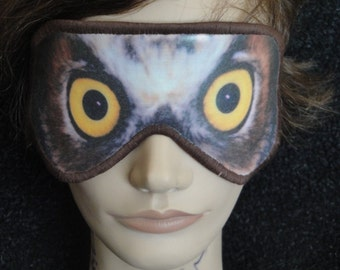 Unique scary owl related items etsy - Scary yellow eyes ...