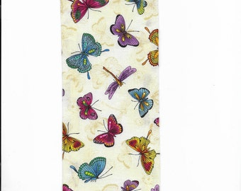 20 inch scroll rod covers, Trulyn2stitching Designs,  Beautiful butterflies