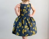 Girl Sleeveless Party Dress PDF Sewing Pattern The Spelen Dress