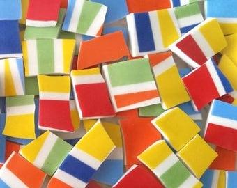 Mosaic Tiles---Color Palette --70 pieces