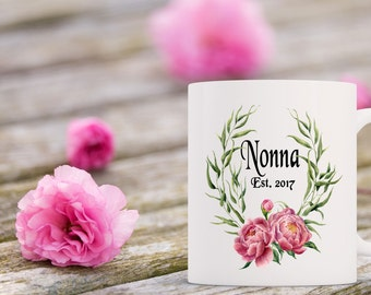 Nonna Established Coffee Mug | Ceramic Coffee Mug | Gift for Coffee Drinker | Coffee Mug Gift | Sublimation Mug | Personalized Coffee Mug
